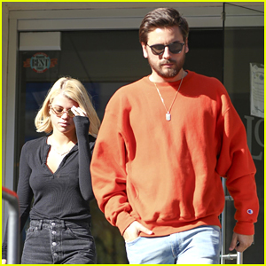 Sofia Richie Steps Out for Lunch with Boyfriend Scott Disick