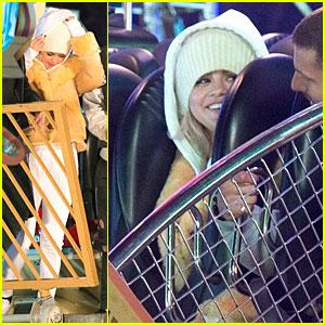 Selena Gomez Goes On Rides At London Winter Wonderland