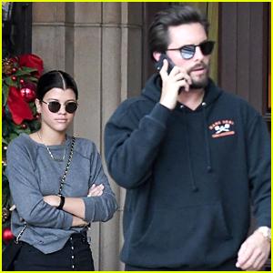 Sofia Richie Grabs Lunch with Boyfriend Scott Disick