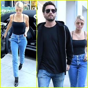 Sofia Richie Rocks Matching Outfits with Boyfriend Scott Disick!