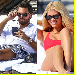 Sofia Richie Hits the Beach With Boyfriend Scott Disick