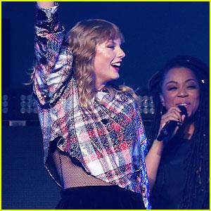 Taylor Swift Brings Ed Sheeran To Second Jingle Ball Stop!