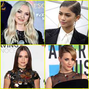 Dove Cameron, Zendaya, Maia Mitchell & More Land Spots on JJJ's Top Actresses of 2017 List