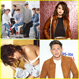 Shawn Mendes, Selena Gomez, BTS & More Top JJJ's Top 30 Musicians of 2017