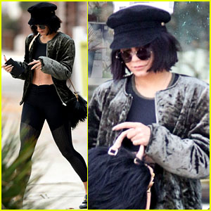 Vanessa Hudgens Shows Off Her Toned Torso Following Engagement Speculation