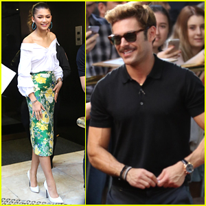 Zendaya Joins Zac Efron While Promoting 'The Greatest Showman' in Sydney