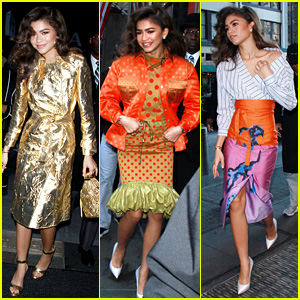 Zendaya Starts Her Morning in Three Chic Outfits - Which is Your Favorite?!