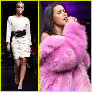 Madison Beer & Jasmine Sanders Slay at Maybelline Fashion Show