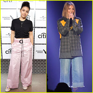 Alessia Cara & Julia Michaels Perform at Lucian Grainge's Pre-Grammys Showcase
