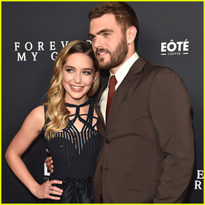 Alex Roe Suits Up For 'Forever My Girl' Premiere in LA