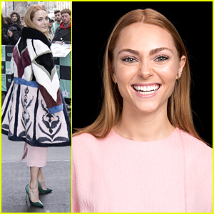 AnnaSophia Robb's Amazing Technicolor Dreamcoat Will Be The Only Thing You'll Dream About