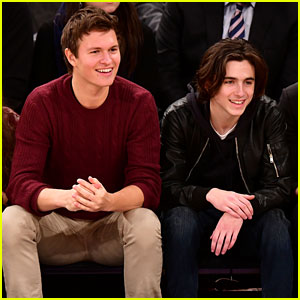 Ansel Elgort & Timothee Chalamet's High School Drama Teacher Spills Some Insider Secrets