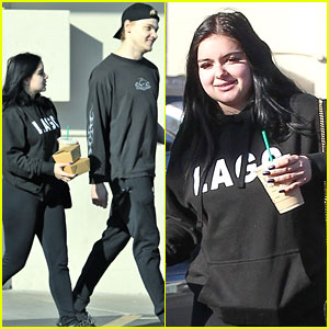 Ariel Winter & Levi Meaden Couple Up For Lunch Run