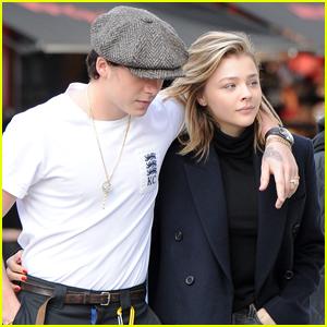 Brooklyn Beckham & Chloe Moretz Couple Up in London!
