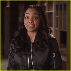 China Anne McClain Chats Up 'Black Lightning' Character Jennifer Pierce
