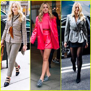 Chloe Lukasiak Promotes New Book with Six Fashionable Looks - See Them All Here!