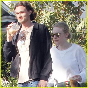 Dakota Fanning & Boyfriend Henry Frye Hold Hands on Lunch Date!