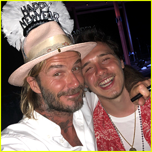 Brooklyn Beckham Celebrates New Year's Eve with His Famous Family!