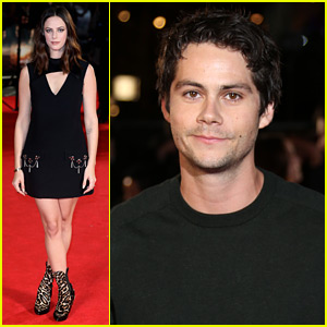 Dylan O'Brien & Kaya Scodelario Premiere 'The Death Cure' in London!