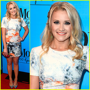 Emily Osment Celebrates 100 Episodes of 'Mom'