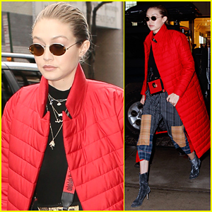 Gigi Hadid Steps Out in NYC Looking So Chic!