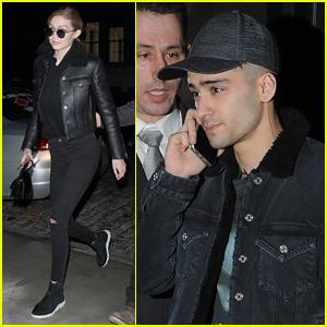 Gigi Hadid & Zayn Malik Step Out in NYC