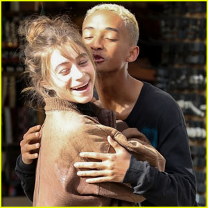 Jaden Smith & Girlfriend Odessa Adlon Get Silly During Afternoon Outing