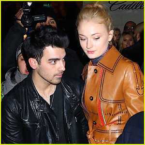 Sophie Turner Joins Fiance Joe Jonas for Grammys Weekend Parties!