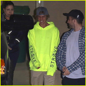 Justin Bieber Goes to Church With His Mother & Patrick Schwarzenegger!