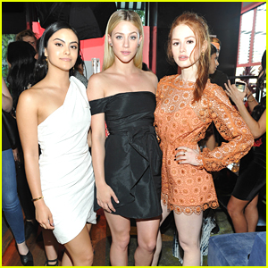 Madelaine Petsch, Lili Reinhart & Camila Mendes Have Open Conversations About Body Image & Mental Health