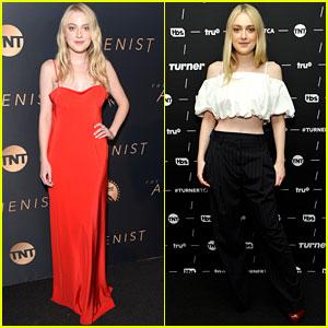Dakota Fanning Rocks Two Different Looks While Celebrating 'The Alienist' Premiere
