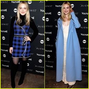 Dakota Fanning's Sister Elle Supports Her at Sundance 2018!