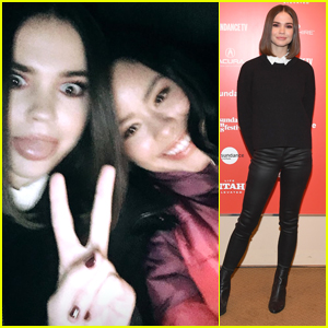 Maia Mitchell Gets Support From 'The Fosters' Co-star Cierra Ramirez at Sundance Film Festival