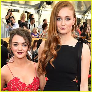 Sophie Turner Has Already Picked Maisie Williams as a Bridesmaid!