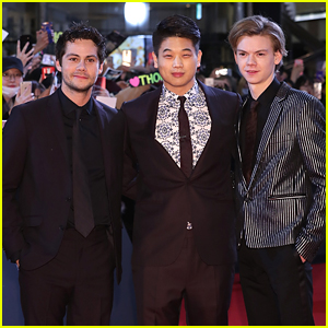 Dylan O'Brien, Thomas Brodie Sangster & Ki Hong Lee Bring Final 'Maze Runner' Film To Korea