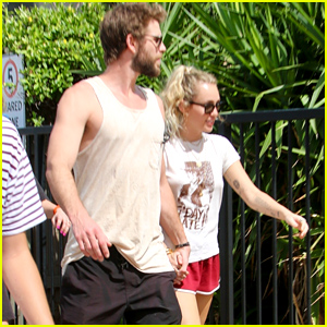 Miley Cyrus & Liam Hemsworth Look So Cute Together in Australia!