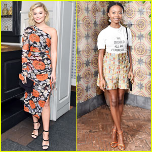 Olivia Holt & Skai Jackson Join More 'It Girls' at Pre-Globes Luncheon