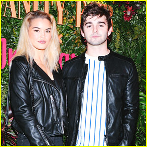 Paris Berelc & Jack Griffo Couple Up For Vanity Fair x Instagram Pre-Golden Globes Party