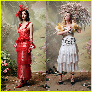 Rowan Blanchard & Ava Phillippe Look So Pretty in Rodarte's Fall Winter 2018 Portrait Series!