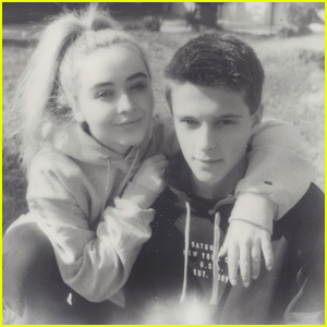 Sabrina Carpenter & Corey Fogelmanis Spend New Year's Day Together