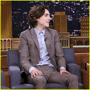 Timothee Chalamet Is Still Freaking Out About Meeting Hollywood Stars - Watch!