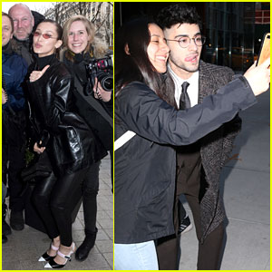 Zayn Malik & Bella Hadid Have Some Fun With the Cameras!