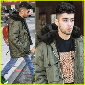 Zayn Malik & Girlfriend Gigi Hadid Spend Time at Her Apartment