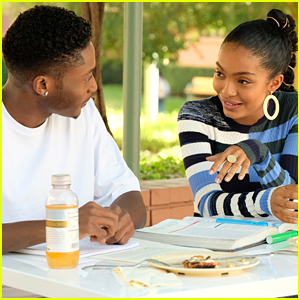 Zoey's Tutoring The Star Basketball Player on Tonight's 'grown-ish' & Aaron is Completely Jealous!