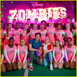 'Zombies' Stars Meg Donnelly & Milo Manheim Launch Disney Spirit Challenge (Exclusive)