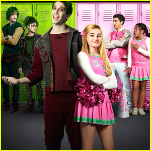 Meg Donnelly & Milo Manheim's New DCOM 'Zombies' Gets Cool & Bright New Poster!