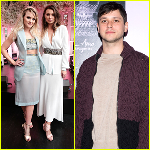 Phil of The Future's Aly Michalka Reunites with Raviv Ullman at AMO Ferragamo Launch Party