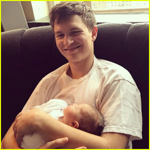 Ansel Elgort Just Became An Uncle & It's Too Cute!