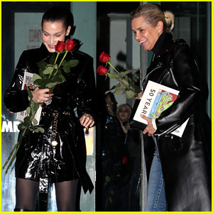 Bella Hadid Grabs Valentine's Day Dinner With a Special Someone!