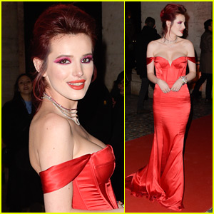 Bella Thorne Goes Glam for 'Midnight Sun' Premiere in Italy!
